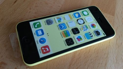 Apple iPhone 5c Gelb 16GB