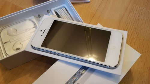 Apple iPhone 5 Weiss 32GB