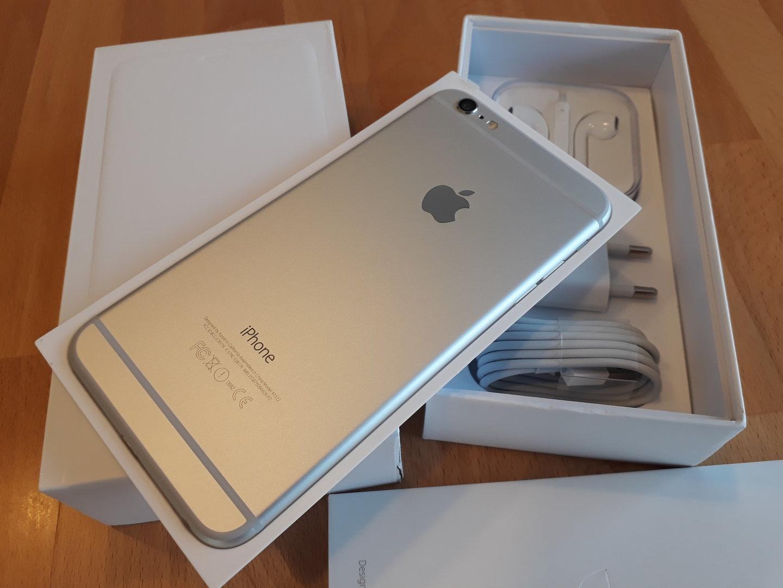 iphone 6 plus silber neu