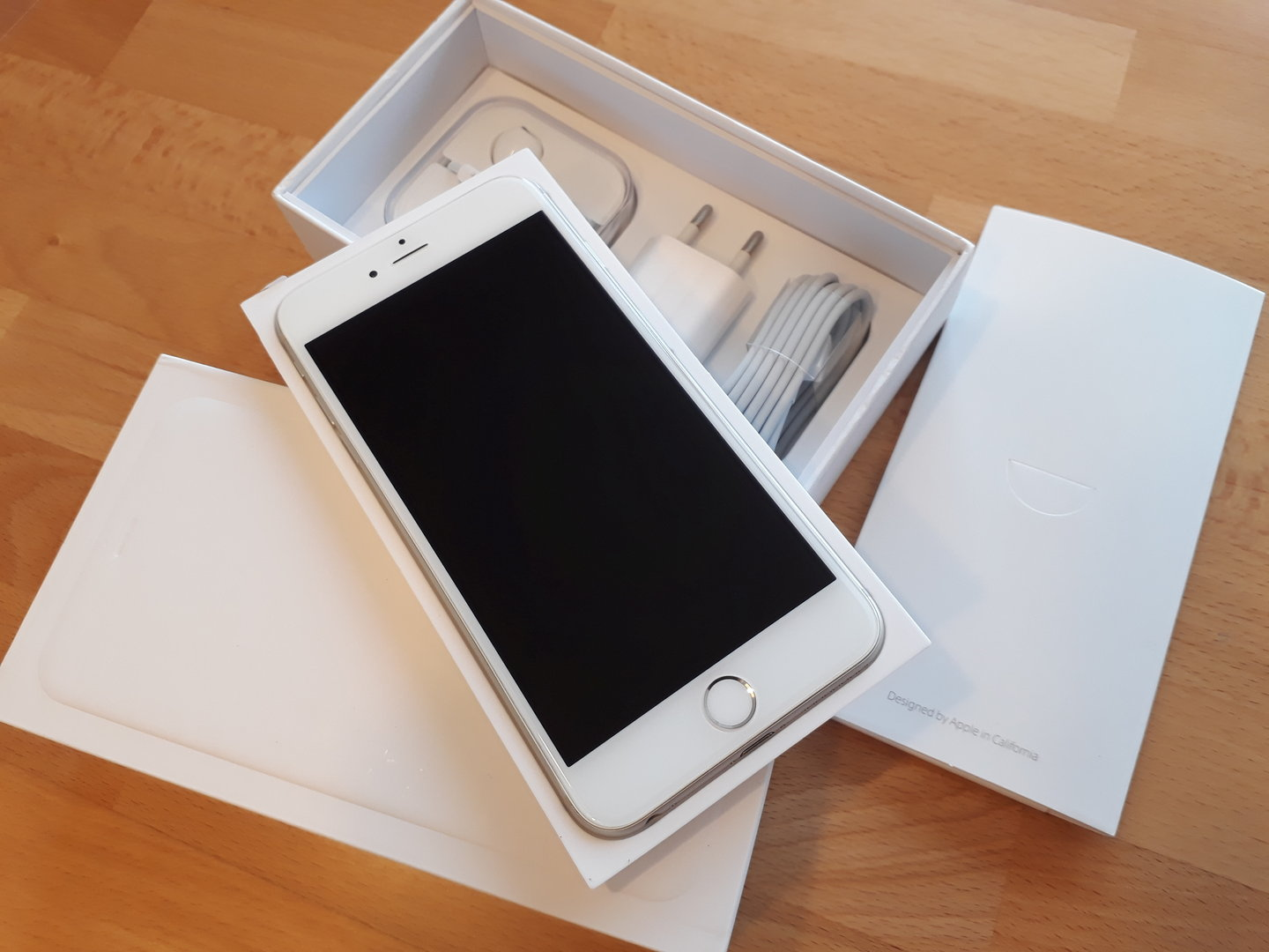 IPHONE 6 PLUS SILBER NEU